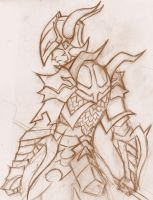 Dragoon sketch by Mailus