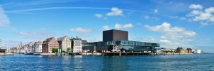 Panorama Port of Copenhagen by Bull04