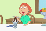 Lois Griffin breast expansion by Pervertix