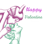 Happy Valentine by MonochromeDemoness