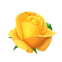 Yellow rose vector by KmyGraphic
