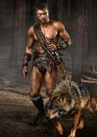 Spartacus and His Daemon by LJ-Todd