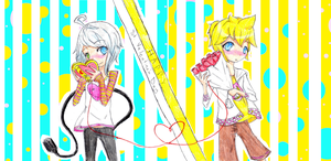 Piko x Len contest entry by SunflowerJuice