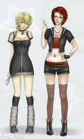 female roxas and axel by Stalaxy