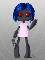 Spider Girl Chibi by nectaroustheine