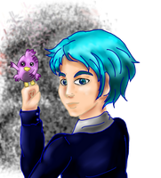 At with Valurauta--Oc Kaito by Silverarte