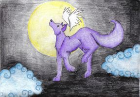 Howl Close To The Moon by KittyNamedAlly