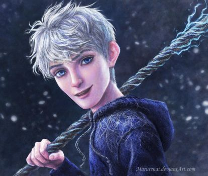 Jack Frost portrait by marurenai