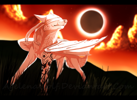 .: Under The Light Of A Black Sun :. by Agelenawolf