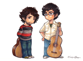 Jemaine and Bret by Sadyna