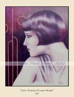 LuLu:Portrait of Louise Brooks by Artman2112