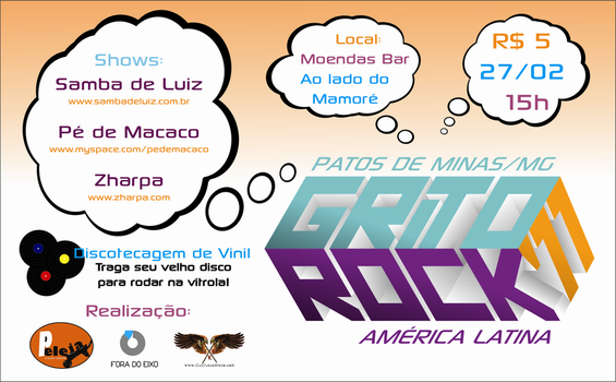 Grito Rock Patos 2011 by caiomachado