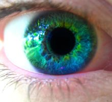 My eye, edited by AboveTheDarkSky