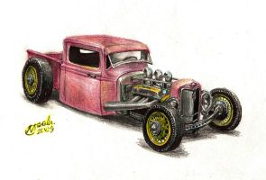 1934 Ford Rat Rod truck by NOzols