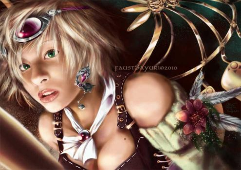 Steampunk Clover by faust-sayuri