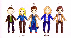 The Doctor and THE Ladies by Strawberry-Itchiko
