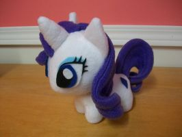 Rarity Chibi Pony MLP FIM by happybunny86