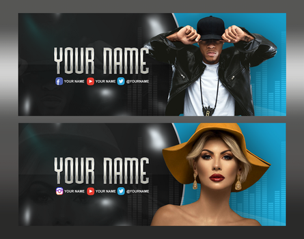 Facebook Cover .PSD by AlbaniaGraphicDesign