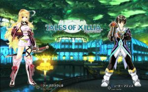Tales of Xillia - wallpaper by T1A60
