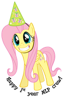Fluttershy Parties by mattyhex