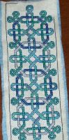 Xmas 10 Pattern C1 Finished by Joce-in-Stitches