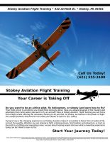 Flyer - Stokey Aviation by xloganx