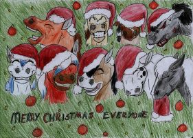 Merry Christmas Everyone by Ilka122