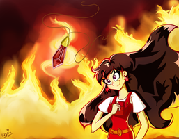 the Call of the Fire. by CherryVioletS