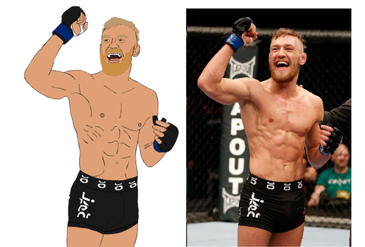 Conor McGregor by TheIYouMe