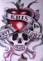 Love Kills Slowly by xXxHeatherAnnxXx