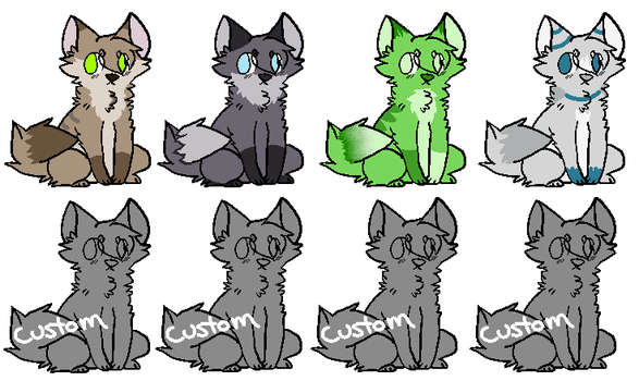 Cheap Adopts by hedgian91