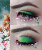 Sailor Jupiter Makeup by Lally-Hime