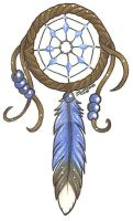 Blue Dream Catcher by RazorCookie