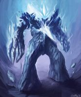 Shard Golem by Cryotube