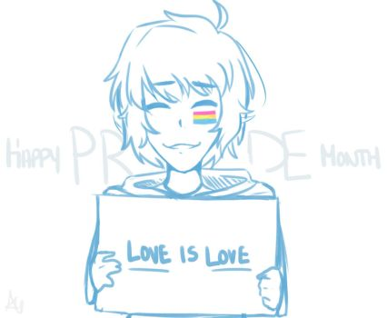 Happy Pride Month (late because I suck) by AliyahIceQueen