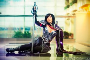Fiora - sitting pretty by yayacosplay