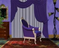 Violet room stock by Ecathe