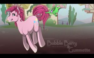Bubble Berry and Gummette by Pocki07