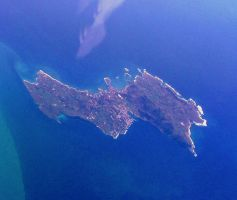 Favignana Island from the air by Faunamelitensis