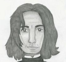 Snape Portrait by LindyArt