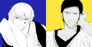 [Ao*Kise]Contrast by iarladiel