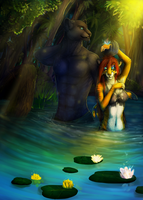 By the river by Araivis-Edelveys