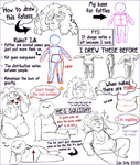 How to draw fatties: A brief summary by ScreeKeeDee
