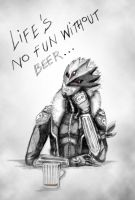 Life's no fun without beer by NightFlame666