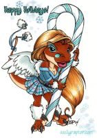 Holiday Solange 2004 by ScullyRaptor