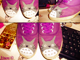 Totoro Shoes by Darkness-nightmare