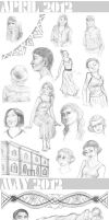 Sketch Select - 2012: April and May by Maivry