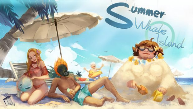 whale dream summer vacation ! by MoonlightYUE