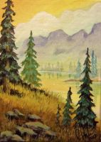 ACEO Morning Splendor by annieoakley64