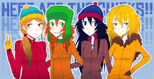 South Park Gurlz by JessMikaerisu